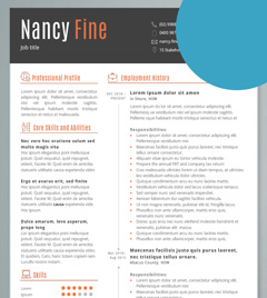 first resume samples