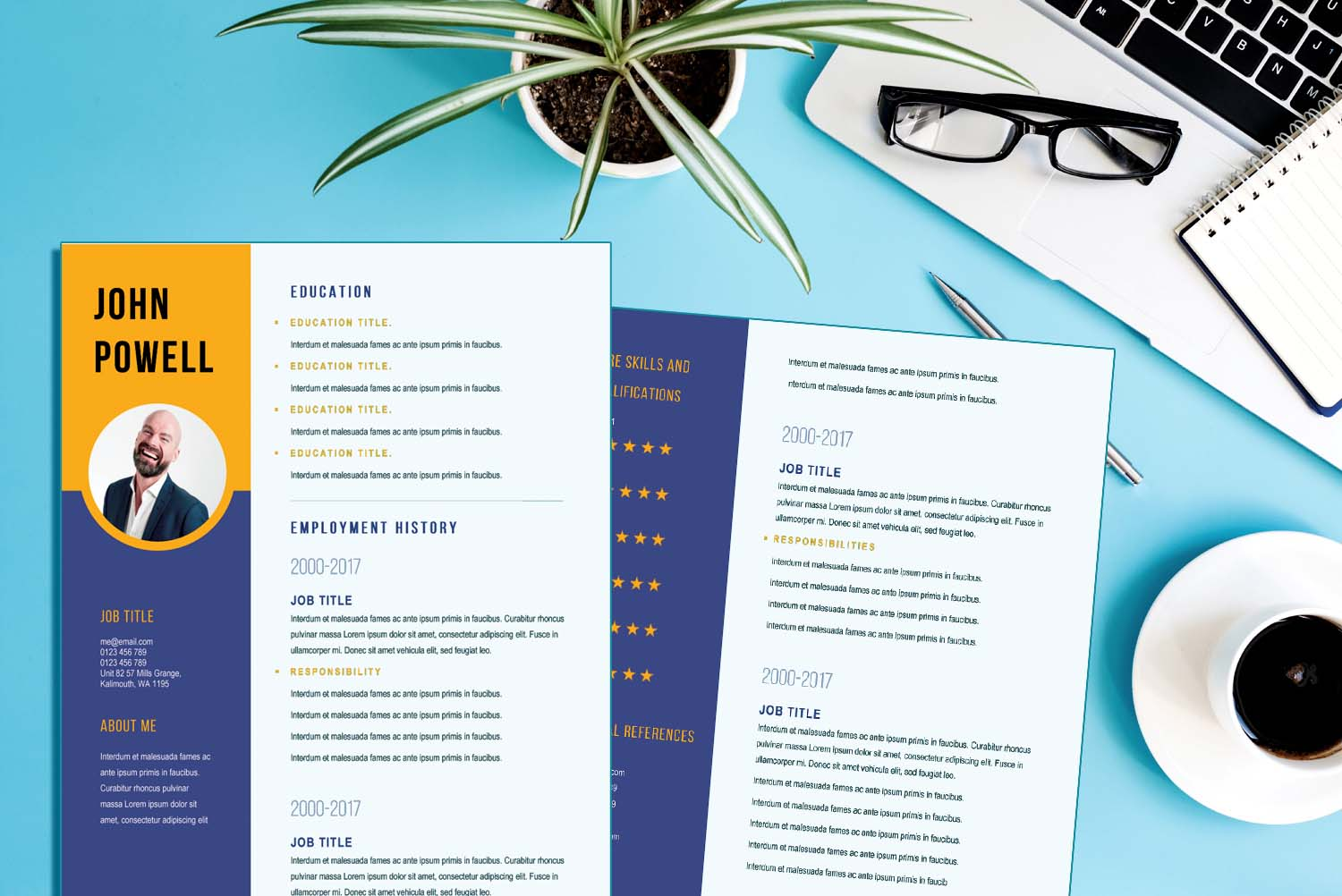Amsterdam Resume Template