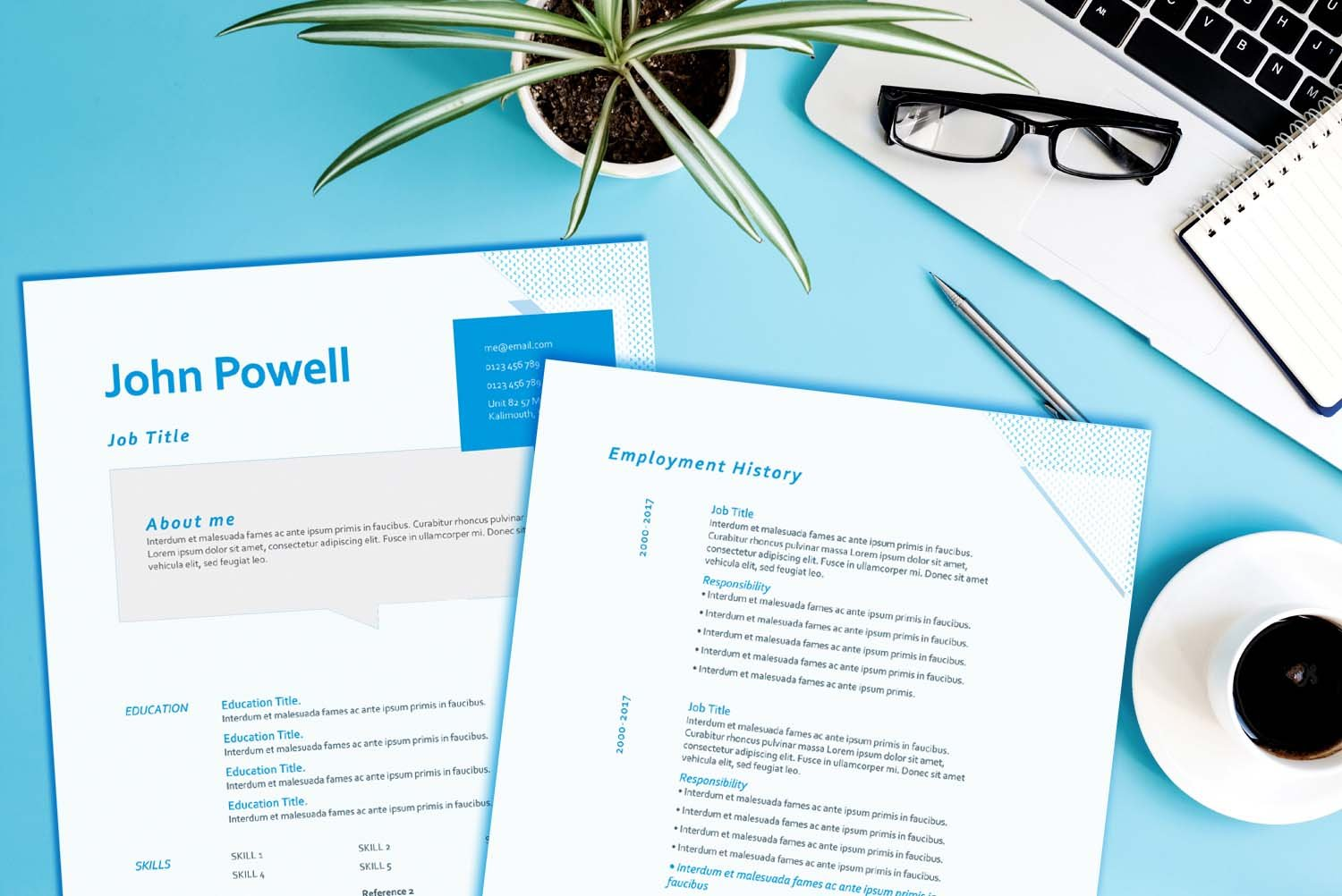 Berlin Resume & Cover Letter Bundle