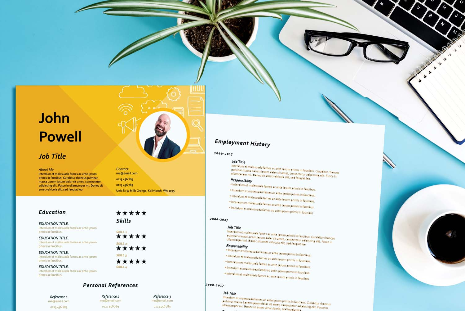 Hanoi Resume & Cover Letter Bundle