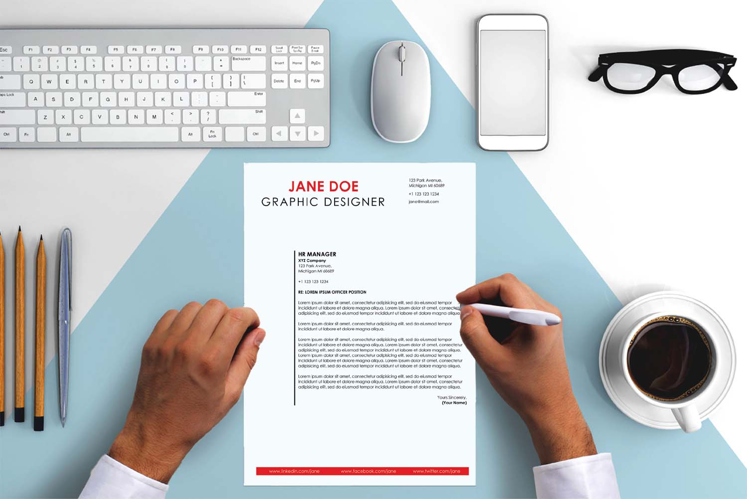 London Cover Letter Template