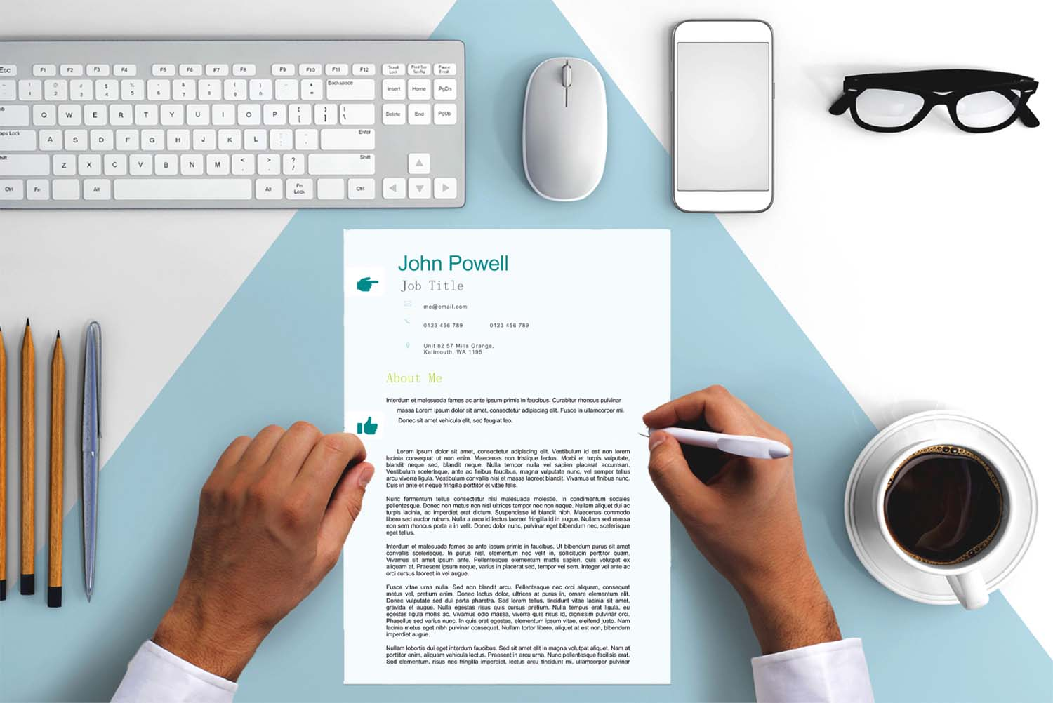 Madrid Green Word Cover Letter Template
