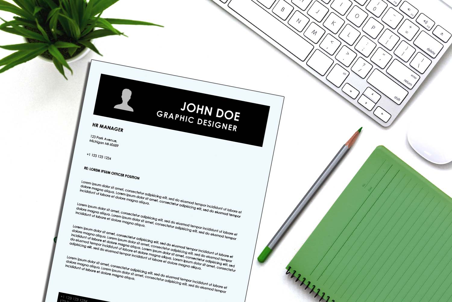 Singapore Cover Letter Template