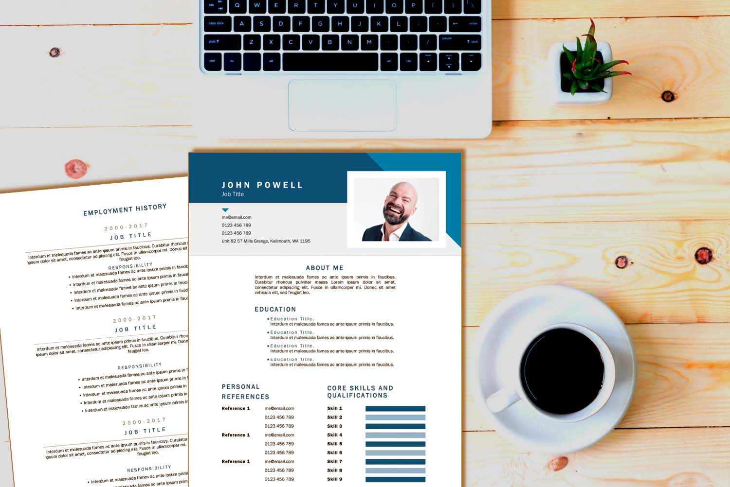Resume & Cover Letter Template Bundles
