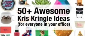 What To Buy For Your Office Kris Kringle