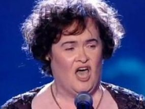 Susan Boyle - never too late to dream