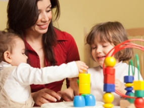 High demand for education and childcare professionals