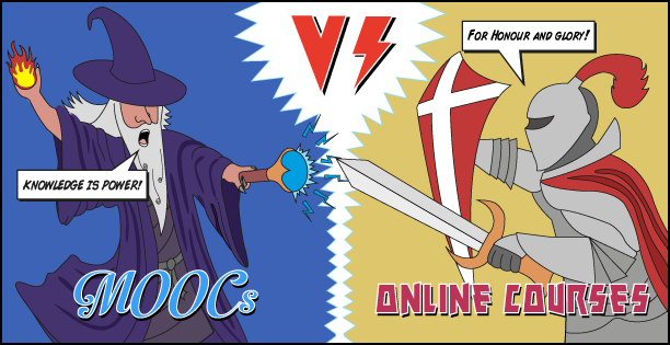 MOOCs vs online courses – what's the difference?