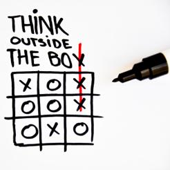 Buzzwords: \'thinking outside the box\'