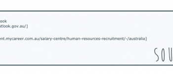 Human resources career fact sheet