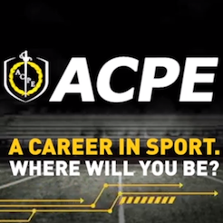 A career in sport will take you places