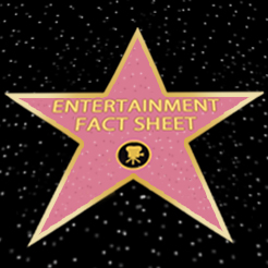 Entertainment career fact sheet