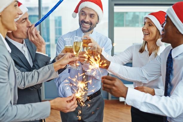 Use the Christmas party as an opportunity to network
