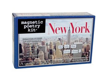 New York Magnetic Poetry