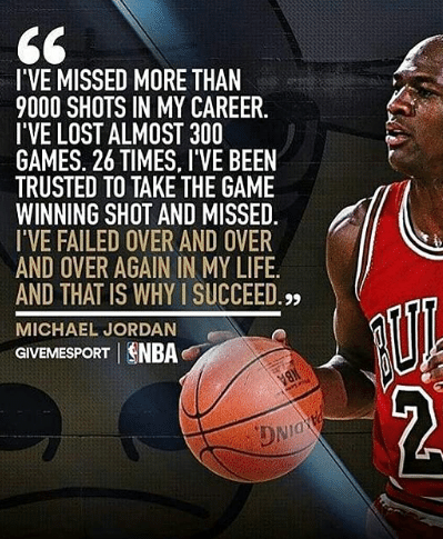 Michael Jordan quote